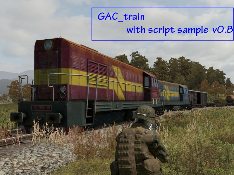 gac_train with script sample 0 8 - ARMA 2 & OA - ADDONS & MODS